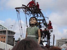 Giants in Liverpool 2 by Will1885