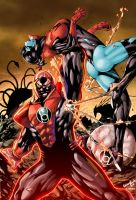 RED LANTERNS by Leonardo Gondim colored by Dany-Morales