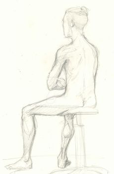 Life Drawing 003 by OddKitty