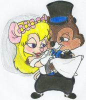 Chip and Gadget's Wedding 2 by nintendomaximus