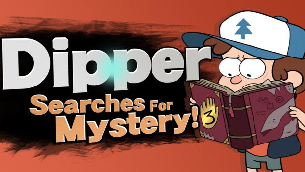 Dipper Searches For Mystery! by Broxome