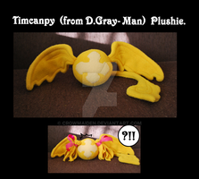 Timcanpy Plush by CrowMaiden