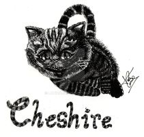 Cheshire Cat by LaTinaja