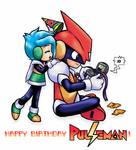 Happy Bday Pulseman by DarkCream