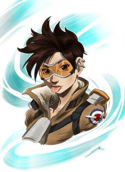 Tracer WIP by Dericules