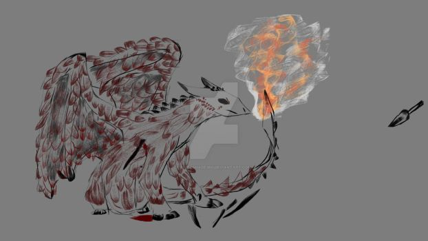 Wounded And Still Fighting by rivershade360