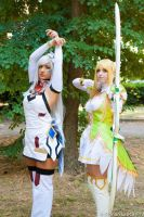 Elsword: Code Electra and Grand Archer by TsubameRain