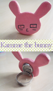 Kamme the Bunny by apple-apple