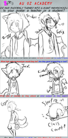 Z1ggy and FeLiX at school! by Tess-Is-Epic