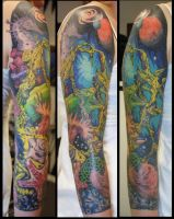 jordan's sleeve by PaintedPeople