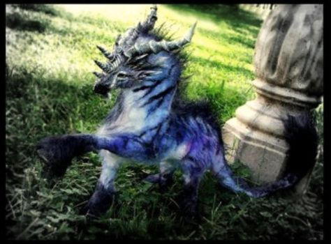 -SOLD-Posable Dragon Horse Mount by Wood-Splitter-Lee