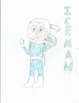 Iceman with hoodie down by GrayComputer