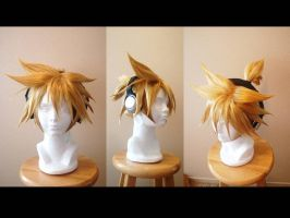 Len vocaloid wig commission by maggifan