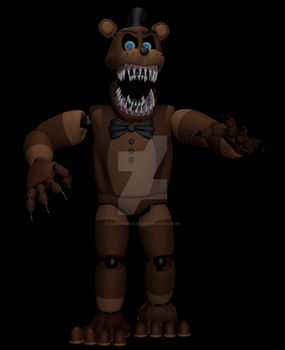 Bent Freddy by SubWooferX3