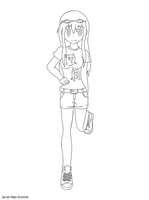 Lucia - lineart by JacobMainland