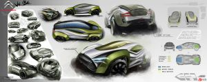 Citroen veibe by GatsuDesign