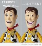 before and after woody by ihatekirbyforreal