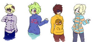 Hep Derp and Nerp~ by rein-koremia