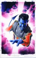 Nightcrawler X2:Prequel Cover by mikemayhew