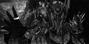 Sauron, The Lord of The Rings by EduardoLeon