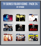 TV Series Folder Icons - Pack 24 by DYIDDO