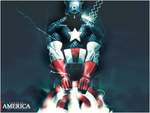 Captain america Wall by soul-concept