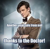 Safe From Evil...thanks to the Doctor! by Vivienne-Mercier