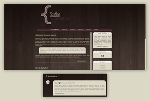 Blogspot template Blog graficzny by MySensitiveHeart