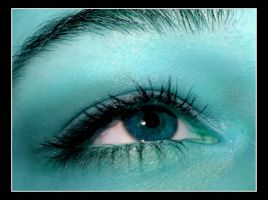 My Cyan Eye by Kira-R