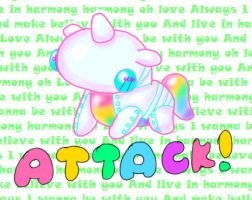 Robot Unicorn Attack by KonnorWite