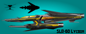 Lycaon Long range strike fighter by capriceklasik