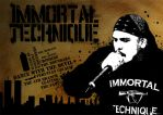 Immortal Technique Stencil by supermanisback