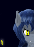 A Pony of the night by marky1212