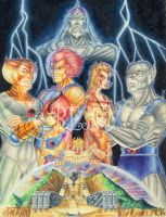 Los-THUNDERCATS by benyhibridos