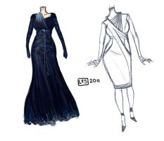 Dresses_001 by BlackBirdInk