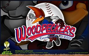 Woodpeckers - Mascot design by Sniwt-Design