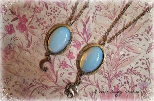 HANDMADE - Opalite Necklaces by IWantCandyCreation