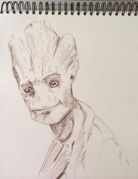 I Am Groot by ClaireJouy