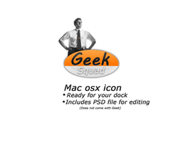 Geek Squad mac icon by TheGraphicGeek