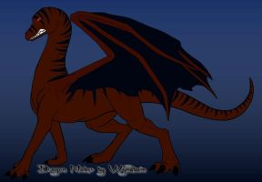 Scar: Sin's pet dragon by VioletEchoBone