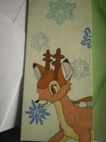 Bambi Christmas by spot1the2dog3