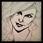 Anna Paquin Sketch by Balltoh
