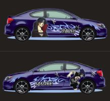 Scion tc graphics by SAMURAI87