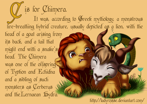 C is for Chimera by LadyRosse