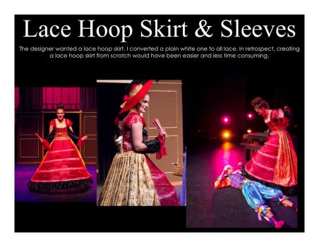 Lace Hoop Skirt by kibiart