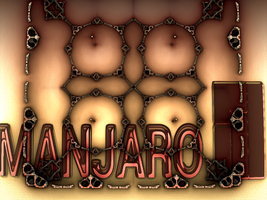 Antique Decorative Manjaro Wp by fraterchaos