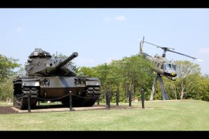 M60A3 TTS and UH-1H by KravinMorhead