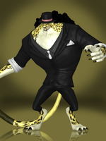 Rob Lucci (Leopard Form) by Sticklove