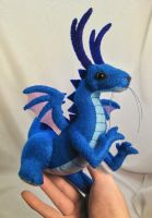 baby dragon plush 2 by SewLolita