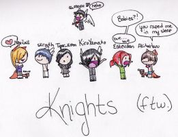 Knights Family by NaviLalli